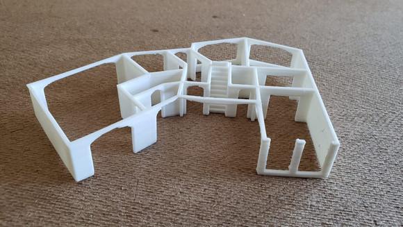 Modelos arquitetônicos de impressão 3D para clientes!