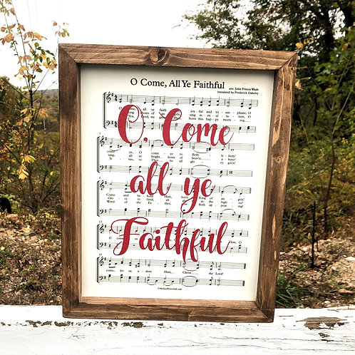 O Come All Ye Faithful