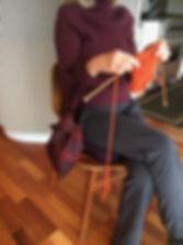Knit Knot handbag size #104