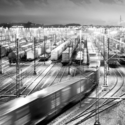 Цифровая прогнозная макромодель движения поездопотоков на сети железных дорог