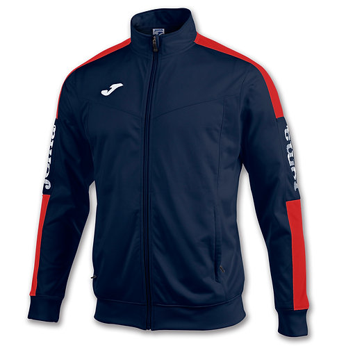 Navy Red Tracksuit Top
