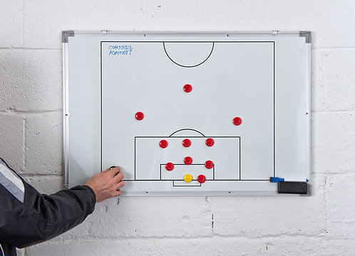 Double-Sided Soccer Tactics Board