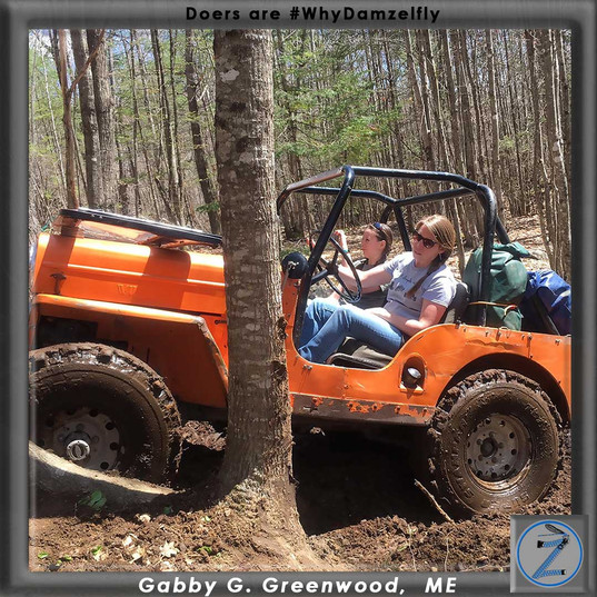 Gabby G teaching the next generation of girls how it is done.  Gabby is helping shape the future of women's gear so she can pee quickly and discretely while jeeping with her club.  Without the feedback of women like Gabby we can't be amazing like all the women we serve.  How can we help you kick ass?