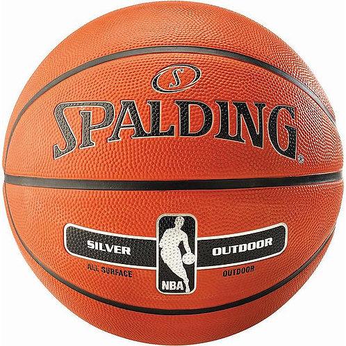Silver Outdoor Basketball
