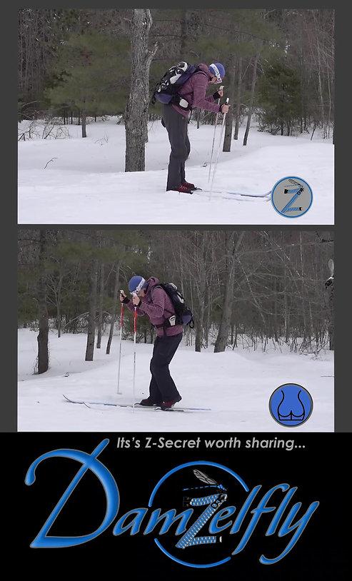 Damzelfly Performance Winter Gear with a Secret