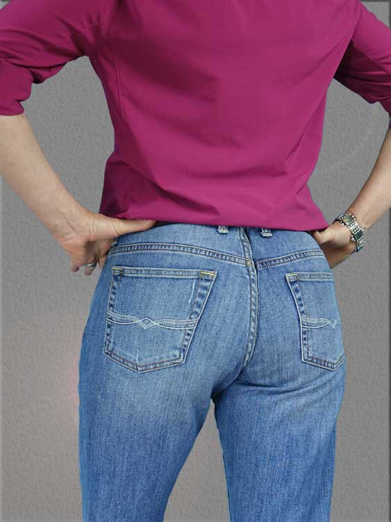 Damzelfly Women's Life Pants Back