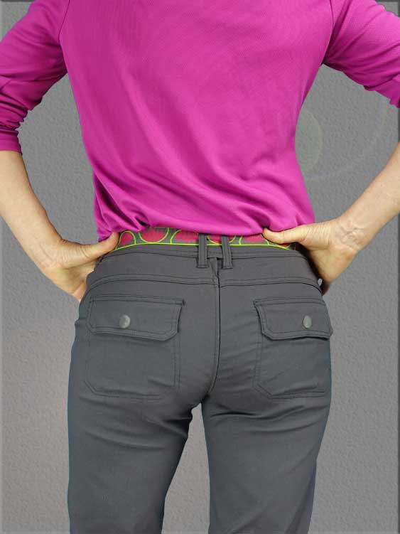 Damzelfly Outsider Women's Pants Back