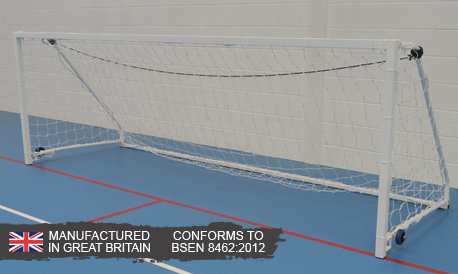 Sabre 5-a-side Wheelaway Folding Goal (8ft x 4ft)