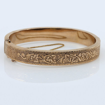 Victorian Hinged Bangle