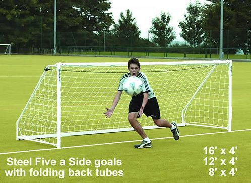 Steel Five-A-Side Goals