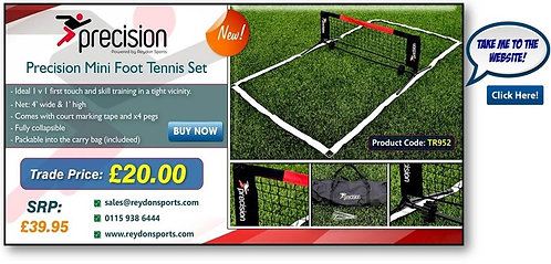 Mini Foot Tennis Set