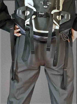 Damzelfly Women's Performance Winter Pants Back