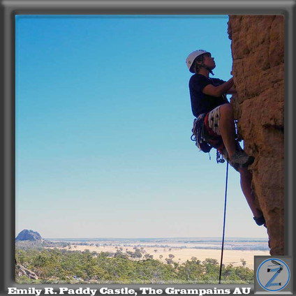 Z-Team insider Emily R scaling the Paddy Castle Crag in The Grampians National Park, Victoria Australia.  Emily is an outdoor pro and world traveler who is not afraid to jump in and get both feet wet.  Staunch supporter of EZP Gear, she too has seen how the original P-System was a game changer for women on patrol.  Emily wants to be a part of the movement so we can all be free to pee.
