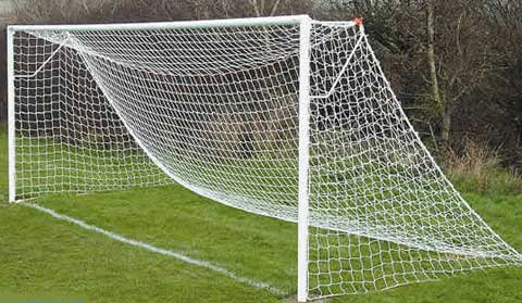 Steel Goal Including Net