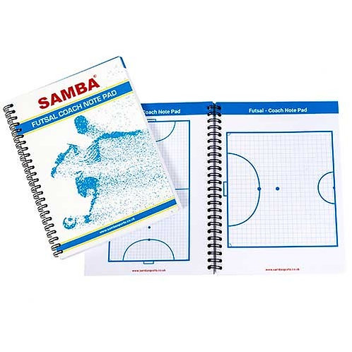 Futsal A5 Coaches Notepad