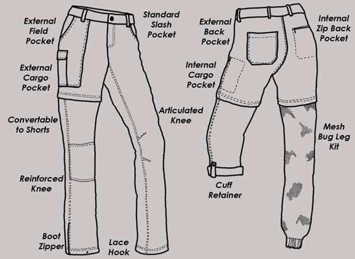 Damzelfly Womwn's Hiking Pants