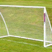 Mini hockey goal 10' x 6' plastic corners