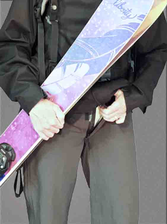 Damzelfly Women's Performance Winter Pants Front Secret