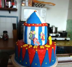 Gâteau 3D cirque