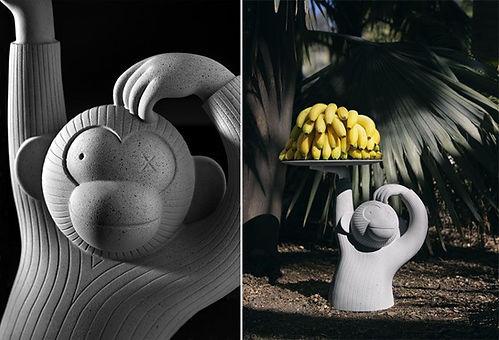 Monkey Side table van BD Barcelona Design | ZU