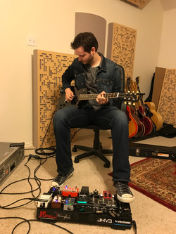 Bo Hennessy - Guitar Tracking