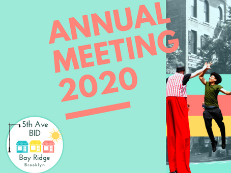 The New Normal - BID Hosts Annual Meeting on Zoom