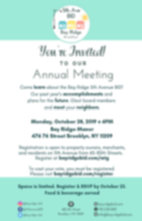 annual meeting invitation