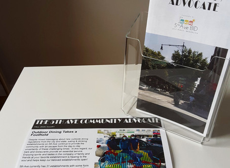 Hot Off the Press! Check Out Our New Printed Newsletter