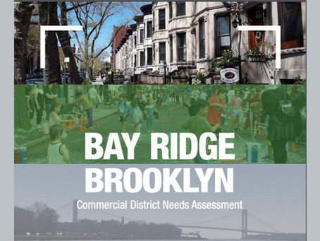 Report Focuses on Bay Ridge Commercial Corridors