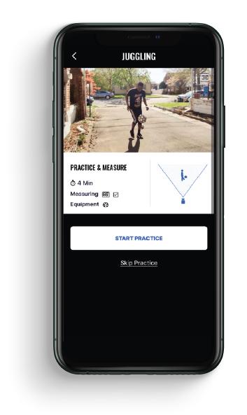 measure your juggling skills - Playform app