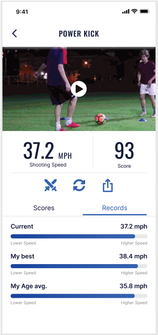Real-time results. Playform app