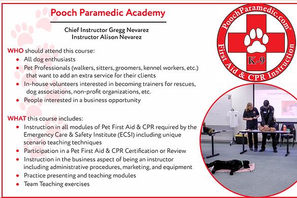 Pooch Paramedic Academy facebook 1_edite