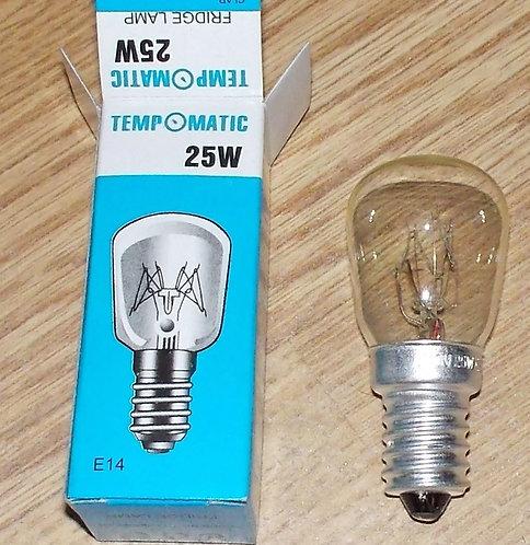 Лампочка 25w E14 для холодильников 02fr02