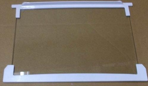 Стеклянная полка 45 см в сборе для холодильников 4564180200 BEKO, BLOMBERG 45см