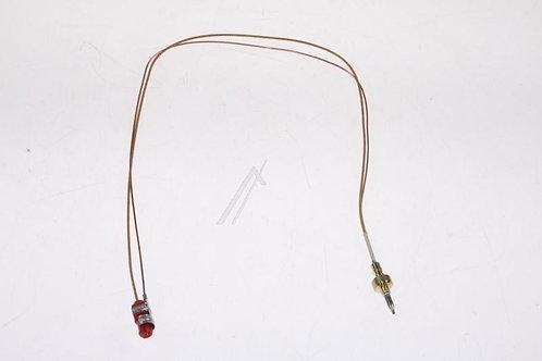 Термопара 480121103647 конфорки L-520mm  для Whirlpool