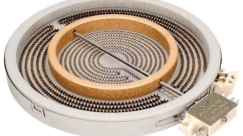 Конфорка двухзонная 2200W.D-120/210  для стеклокерамической плиты 8001840 HANSA
