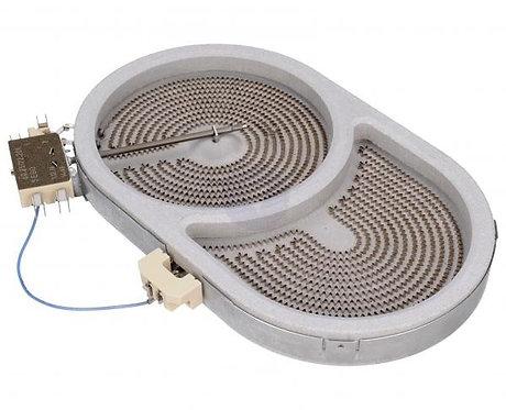 Конфорка утятница  2000W для стеклокерамической плиты HANSA.(8001833)
