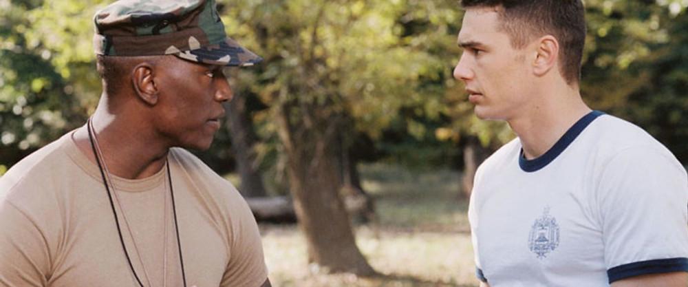 """Uma cena do filme """"Annapolis"""", que utilizo para abordar trabalho em equipe e sentimento de time."""