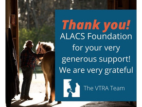 Thank you Alacs Foundation