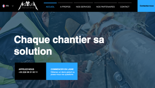 MAYULA Site vitrine Entreprise de BTP