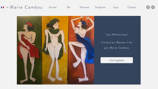 Marie Cambou - Portfolio Peintre
