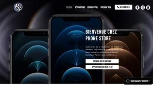 Phone Store Site Vitrine - réparateur téléphonie