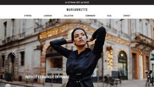 Mariannette - ecommerce vêtements éco-responsable