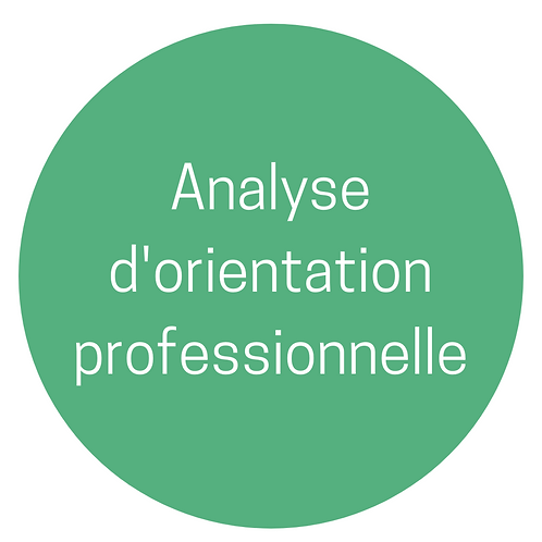 Analyse d'orientation professionnelle