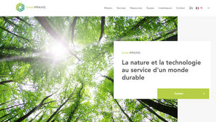 GREEN PRAXIS - Site vitrine éco-services