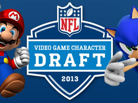 2013 NFL Video Game Character Draft