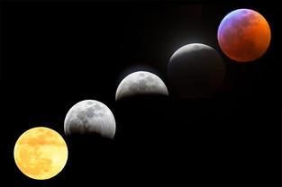 Beautiful Lunar Eclipse