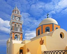 St John the Baptist Cathedral, Santorini, Greece