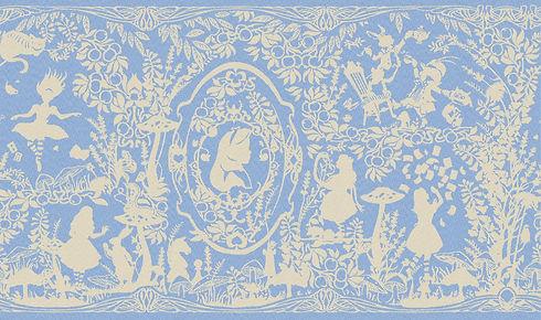 Alice in Wonderland wrap