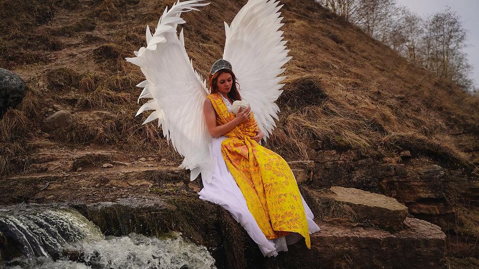 Mokosh wrap Lukomorye The Swan Princess.